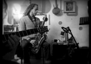 Christophe SaxofoonBW.jpg