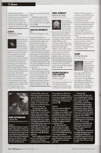 Fabulae Dramatis review in Classic Rock Society Magazine UK