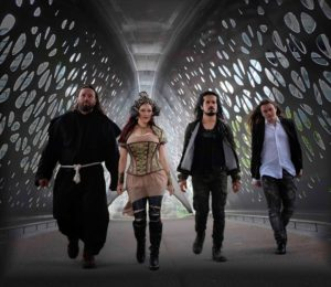 Fabulae Dramatis live line up is: Isabel Restrepo, Daniel Díaz, Hamlet Tinae and Teo Dimitrov.