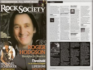 Rock Society Magazine-Fabulae Dramatis article