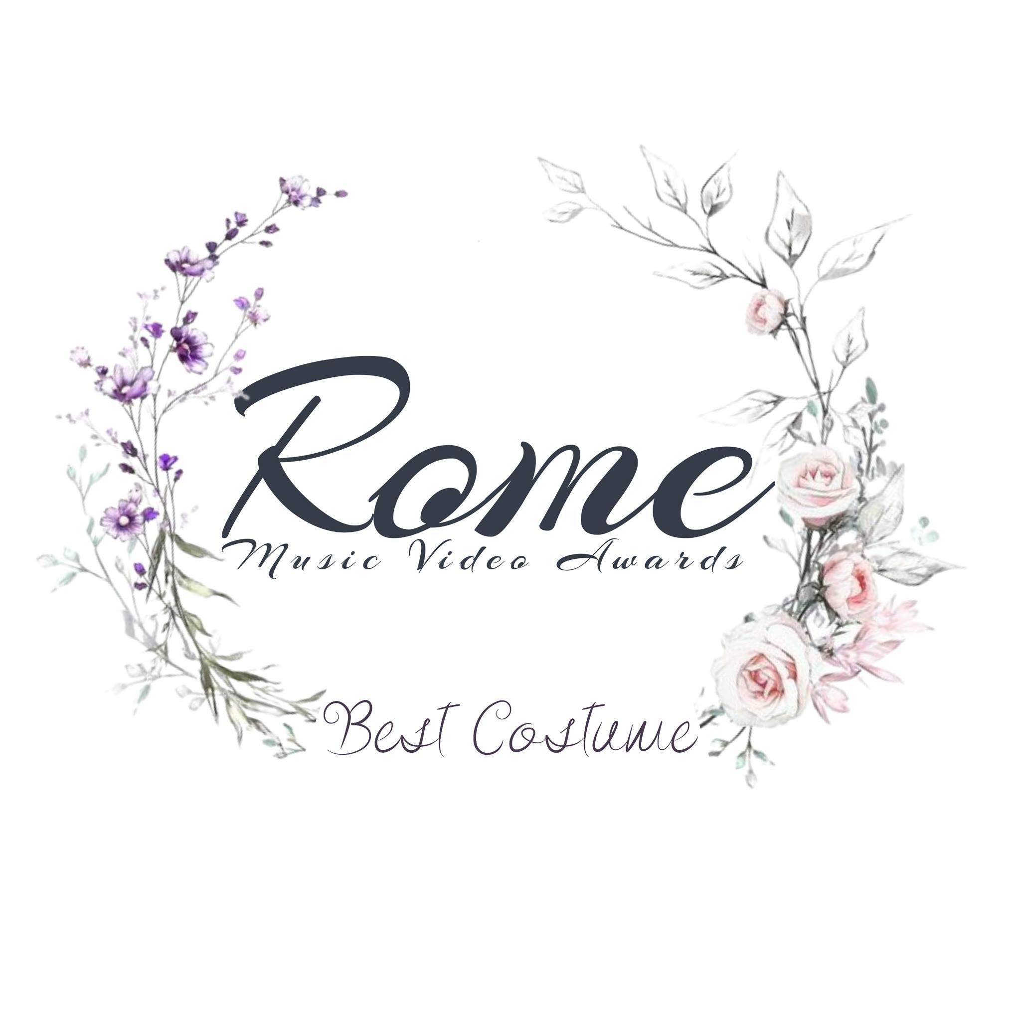 Award Winner – Best Costume – Rome Music Video Awards